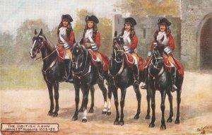 Harry Payne The British Army . James I Hussars TuckOikette PC # 9478
