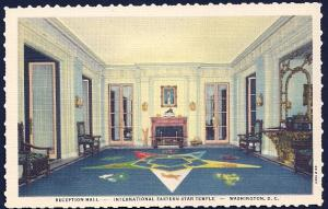 Eastern Star Temple Reception Hall WashingtonDC unused c1944