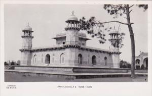 India Agra Itmaduddaula's Tomb Real Photo