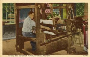 MI - Greenfield Village. Plymouth Carding Mill