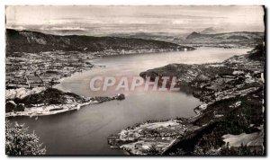 Old Postcard Lake D & # 39Annecy Vu Du Col of Ferclaz