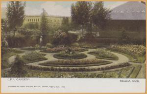 Regina, Saskatchewan - Canadian Pacific Gardens & Station