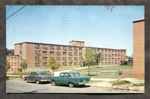 5332 - SYRACUSE NY 1961 University Dormitory. Classic Cars