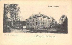 Ancien moulin HOTEL DES RUINES Abbaye de Villers Belgium c1900s Vintage Postcard