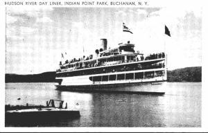 New York Buchanan Indian Point park Hudson River Day Liner