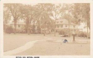 Maine Bethel Bethel Inn 1935 Real Photo RPPC