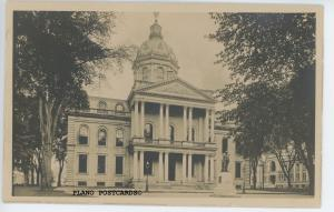 CONCORD, NEW HAMPSHIRE STATE HOUSE, RPPC REAL PHOTO POSTCARD