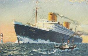 Norddeutscher Lloyd Bremen Line , Ocean Liner EUROPA, 1920-40s