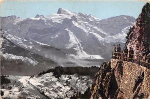 STANSERHORN SWITZERLAND BLICK NACH DEM TITLIS POSTCARD c1909