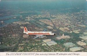 Capital Airlines Viscount 1957