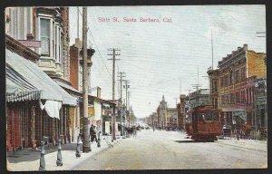 State Street Santa Barbara California Used c1908
