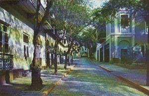 Typical Street Scene San Juan Puerto Rico