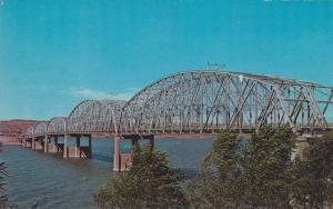 Missouri River Bridge at Chamberlain, South Dakota, 40-60s