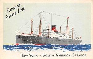 MS Prince Furness Line Ship Unused