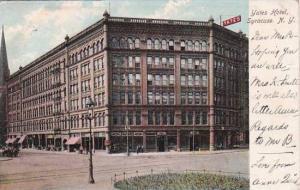 New York Syrause Yates Hotel 1907