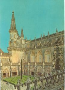 Portugal, BATALHA, Aspecto lado norte, North view, 1969 unused Postcard