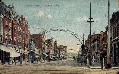 Front Street Marietta OH 1911