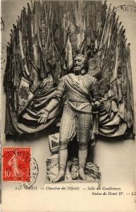 CPA PARIS 7e-Chambre des Députes-Statue de Henri IV (327973)