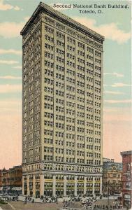 Toledo Ohio~Second National Bank Building~Architect~Contractor~Decorators~1910