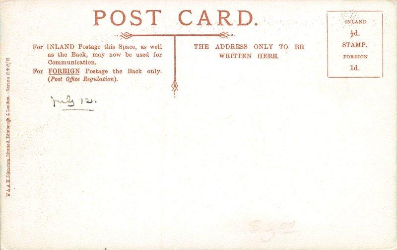 Main Street, Callandar, Scotland, Early Postcard, Unused