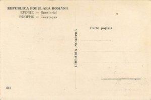 Carte Postala Romania Eforie Sanatorium healthcare building