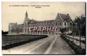 Old Postcard Croisic of pen Bron South East Marine Hospital