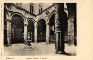 CPA FIRENZE Palazzo Vecchio Il Cortile. ITALY (501393)