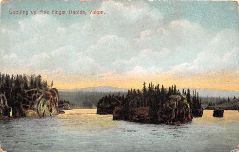BR39434 looking un five Finger Rapids Yukon canada