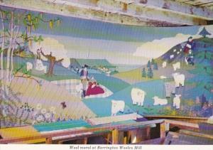 Canada Barrington Wood Mural At Old Woolen Mill