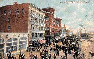 LP42   Atlantic City  New Jersey Postcard Boardwalk