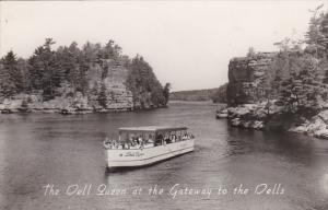The Dell Queen At The Gateway To The Wisconsin Dells Wisconsin Real Photo