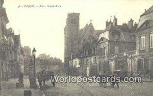Place Emile Zola Dijon, France, Carte, Unused