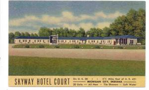 Skyway Hotel Court, Michigan City, Indiana, 1930-1940s