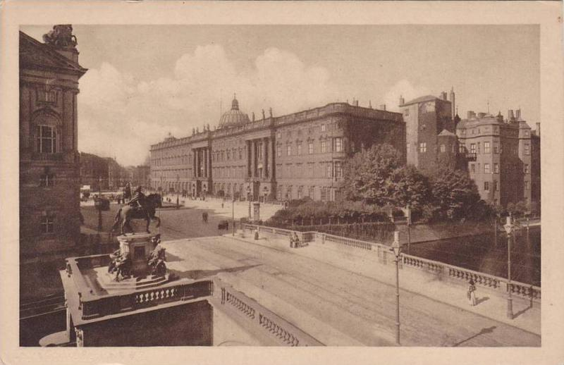 Konigl. Schloss Mit Schlossplatz, Berlin, Germany, 1910-1920s