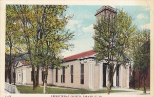 Presbyterian Church, FARMVILLE, Virginia, 1910-1920s