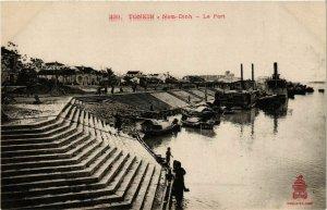 CPA AK INDOCHINA Nam-Dinh Le port VIETNAM (956553)