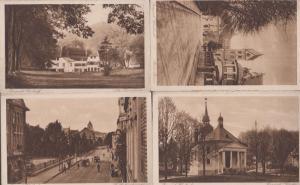 Bergisch Gladbach 4x Germany Vintage Postcard s