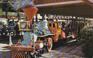 Miniature Train Ride Crystal Park Ontario Canada