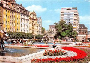 Messestadt Leipzig Sachsenplatz Square Fountains Brunnen