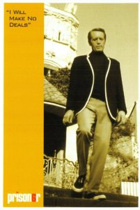 Postcard, The Prisoner  I will make no deals  1960s Cult British TV Series 63V