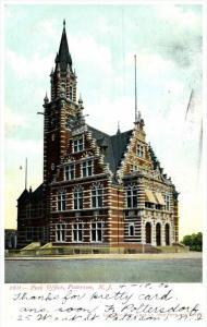 11440 NJ Paterson 1903  Post office