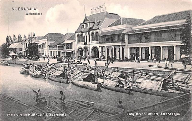 Soerabaja Indonesia, Republik Indonesia Willemskade Soerabaja Willemskade