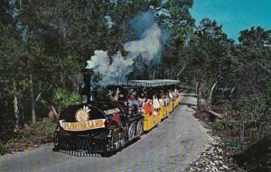 Florida Sarasota Tour Train At Floridaland 1967
