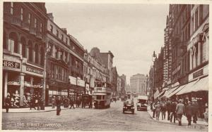 LIVERPOOL, England, 00-10s; Lord Street , Store Fronts