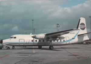 SWEDAIR Fairchild F-27, Copenhagen, Denmark 1983