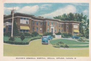 ORILLIA , Ontario, Canada, 30-40s ; Soldiers Memorial Hospital