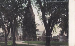 Exterior,  Christ Church,  Poughkeepsie,  New York,   PU_1907