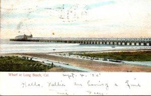 California Long Beach The Wharf 1905