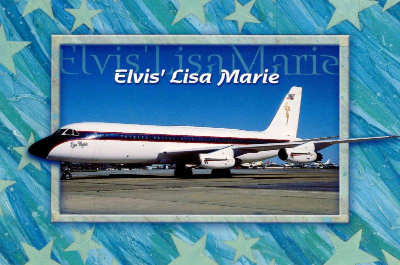 Elvis Presley - Lisa Marie Private Aircraft