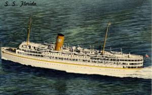 P & O Steamship Company - SS Florida   (Ship)